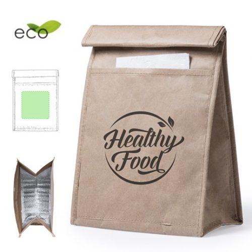 bolsa de papel termica reutilizable