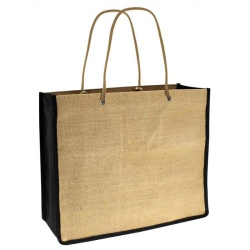 Bolsa yute reciclable y reutilizable
